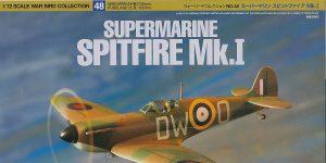 Spitfire Mk. I im Maßstab 1:72 von Tamiya # 60748