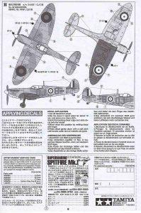 Tamiya-60748-Spitfire-Mk.-I-1zu72-7-199x300 Tamiya 60748 Spitfire Mk. I 1zu72 (7)