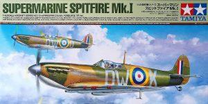 Spitfire Mk. I im Maßstab 1:48 von Tamiya 61119
