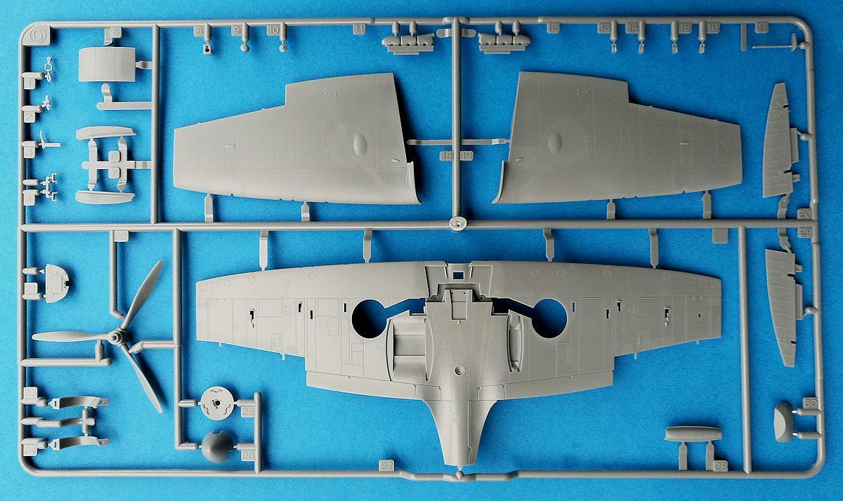 Tamiya-61119-Spitfire-Mk.-I-62 Spitfire Mk. I im Maßstab 1:48 von Tamiya 61119