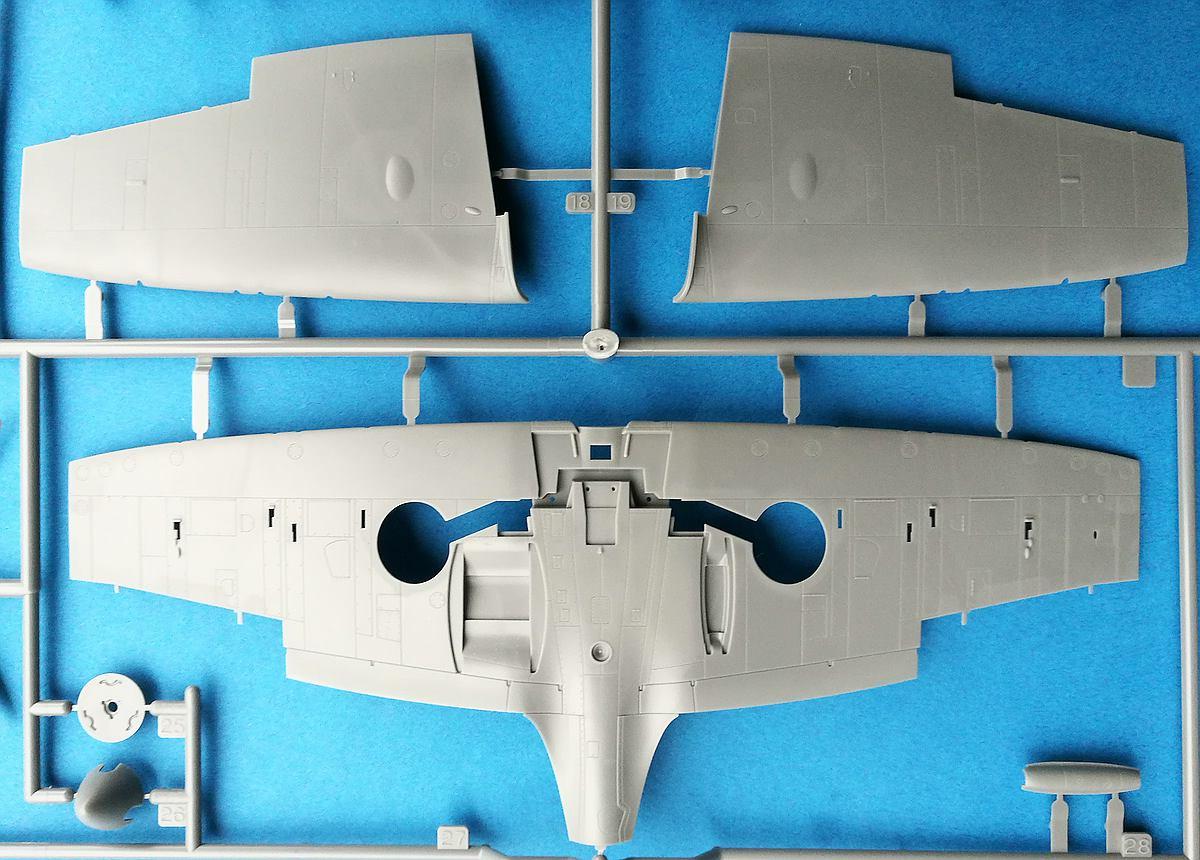 Tamiya-61119-Spitfire-Mk.-I-63 Spitfire Mk. I im Maßstab 1:48 von Tamiya 61119