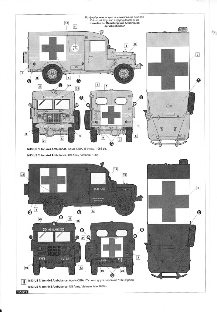 scan1563 M43 Ambulance 1:35 Roden (#811)