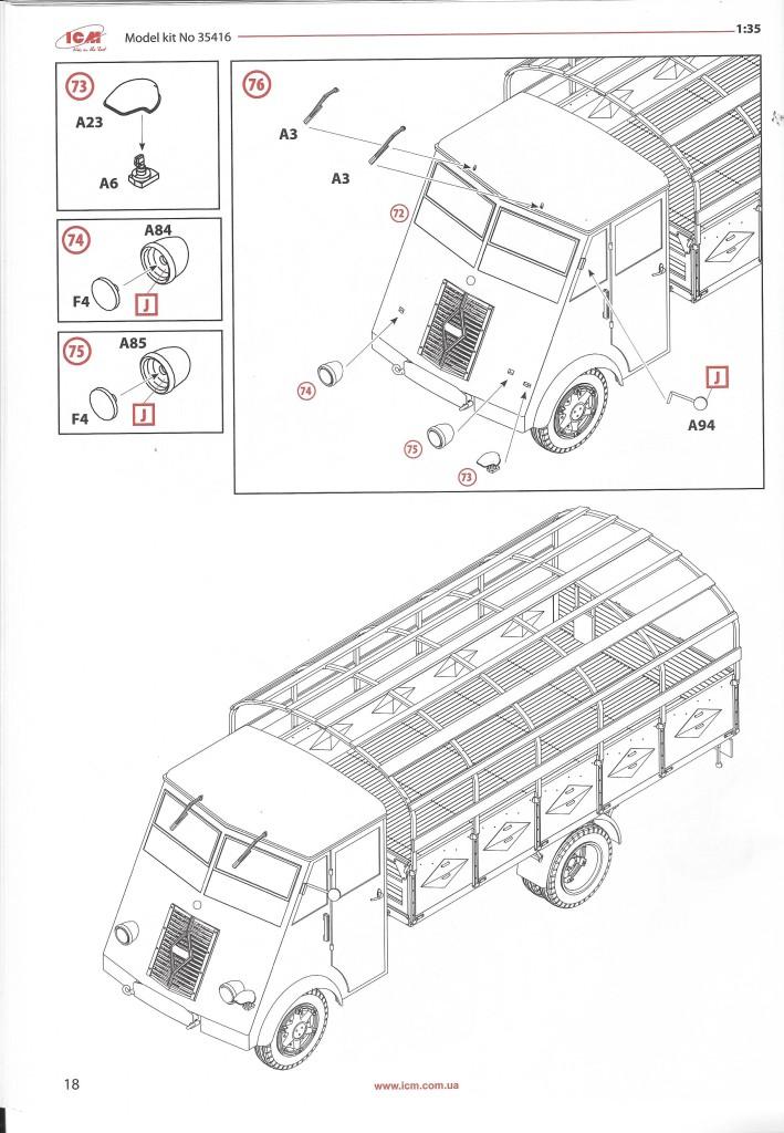 scan1583 Lastkraftwagen 3.5 t AHN with German Drivers 1:35 ICM (#35418 )