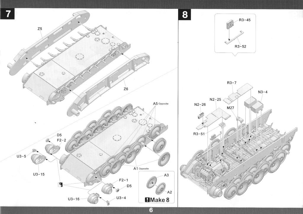 07-2 German Tank Destroyer Sd.Kfz. 173 Jagdpanther G2 1:35 Takom (#2118)