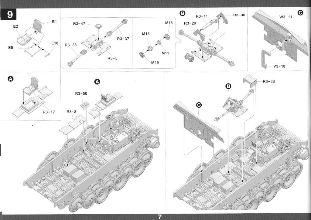 08-2 German Tank Destroyer Sd.Kfz. 173 Jagdpanther G2 1:35 Takom (#2118)