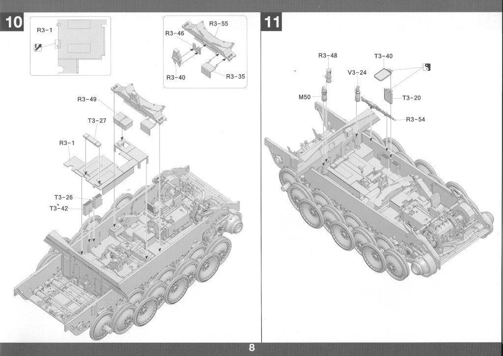 09-2 German Tank Destroyer Sd.Kfz. 173 Jagdpanther G2 1:35 Takom (#2118)