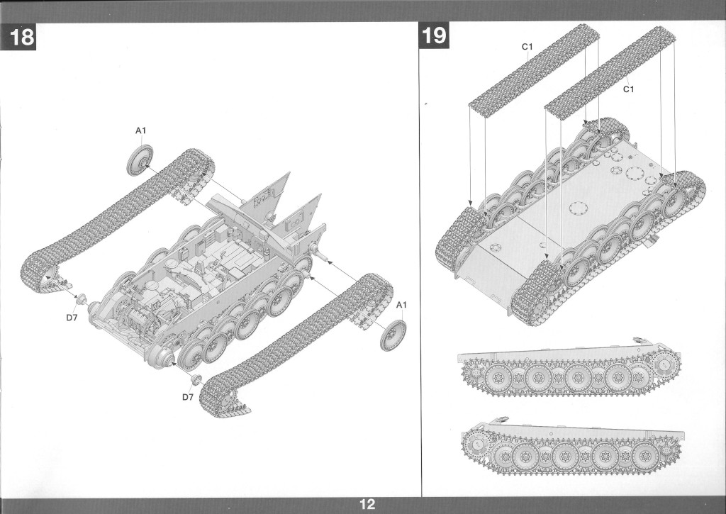 13-2 German Tank Destroyer Sd.Kfz. 173 Jagdpanther G2 1:35 Takom (#2118)