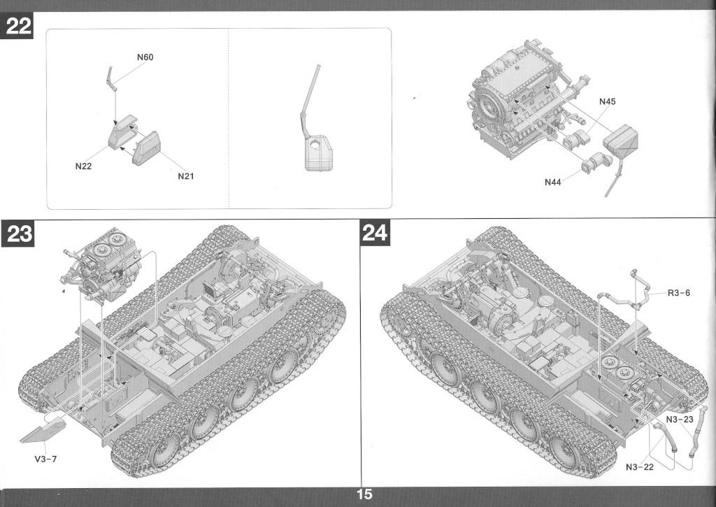 16-2 German Tank Destroyer Sd.Kfz. 173 Jagdpanther G2 1:35 Takom (#2118)