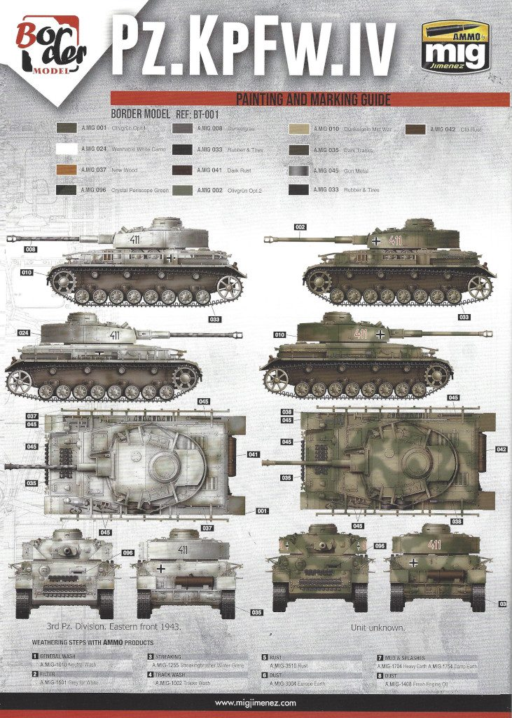 17-731x1024 Pz. Kpfw. IV Ausf. G Mid/Late 2 in 1 1:35 Border Model (BT-001)