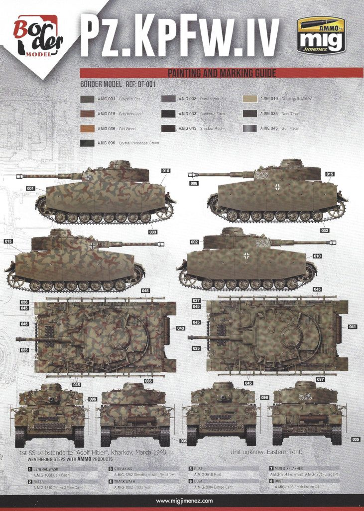 18-731x1024 Pz. Kpfw. IV Ausf. G Mid/Late 2 in 1 1:35 Border Model (BT-001)