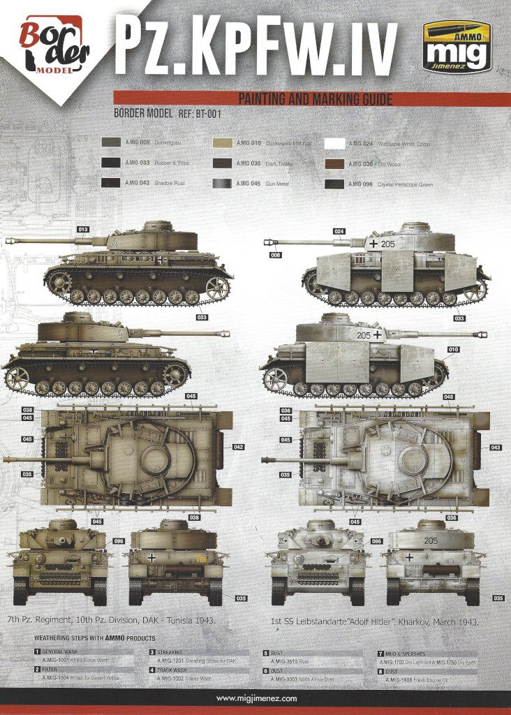 19-732x1024 Pz. Kpfw. IV Ausf. G Mid/Late 2 in 1 1:35 Border Model (BT-001)