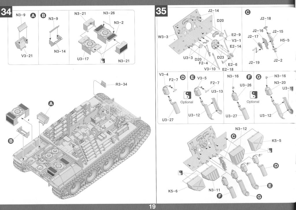 20-1 German Tank Destroyer Sd.Kfz. 173 Jagdpanther G2 1:35 Takom (#2118)