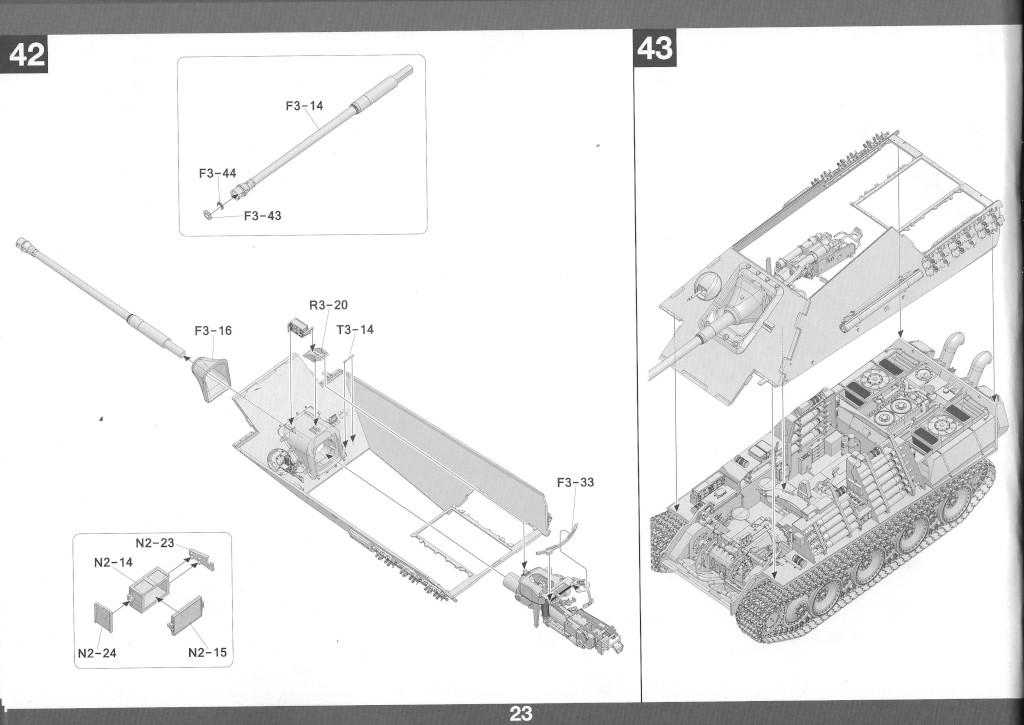 24 German Tank Destroyer Sd.Kfz. 173 Jagdpanther G2 1:35 Takom (#2118)