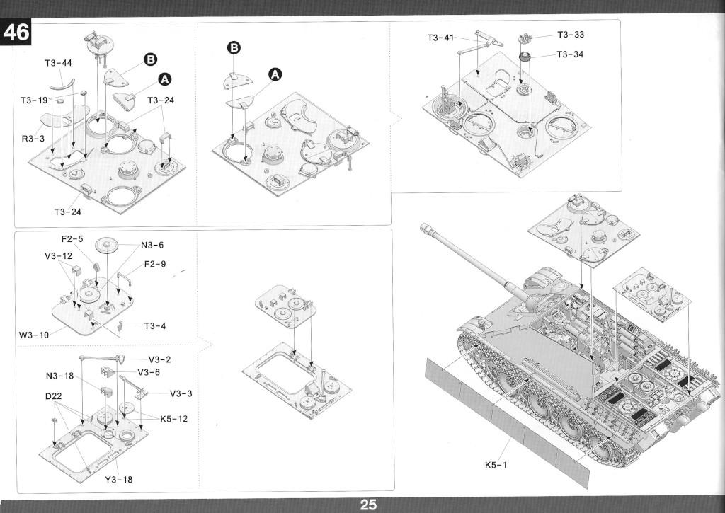 26 German Tank Destroyer Sd.Kfz. 173 Jagdpanther G2 1:35 Takom (#2118)