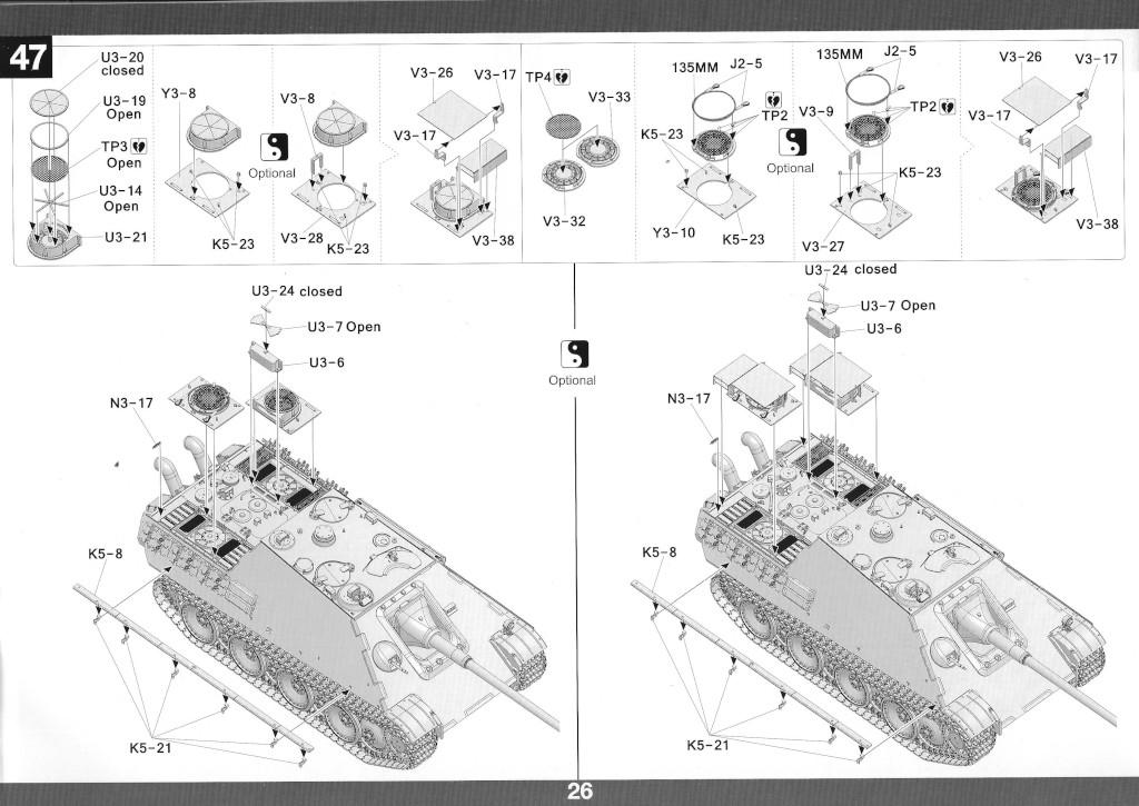 27 German Tank Destroyer Sd.Kfz. 173 Jagdpanther G2 1:35 Takom (#2118)