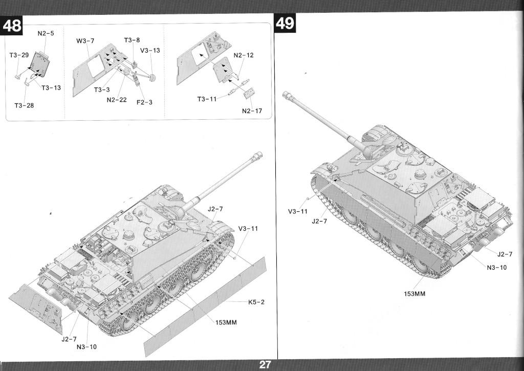 28 German Tank Destroyer Sd.Kfz. 173 Jagdpanther G2 1:35 Takom (#2118)