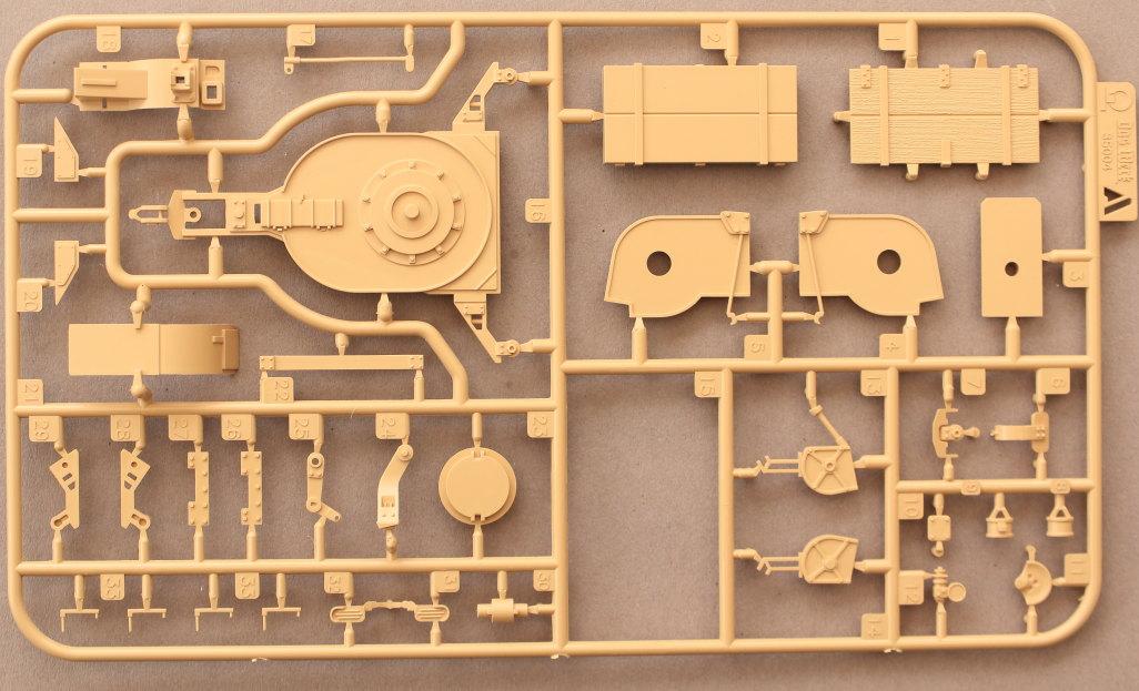 A-9 3cm Flakvierling 103/38 1:35 Das Werk (#DW35004)
