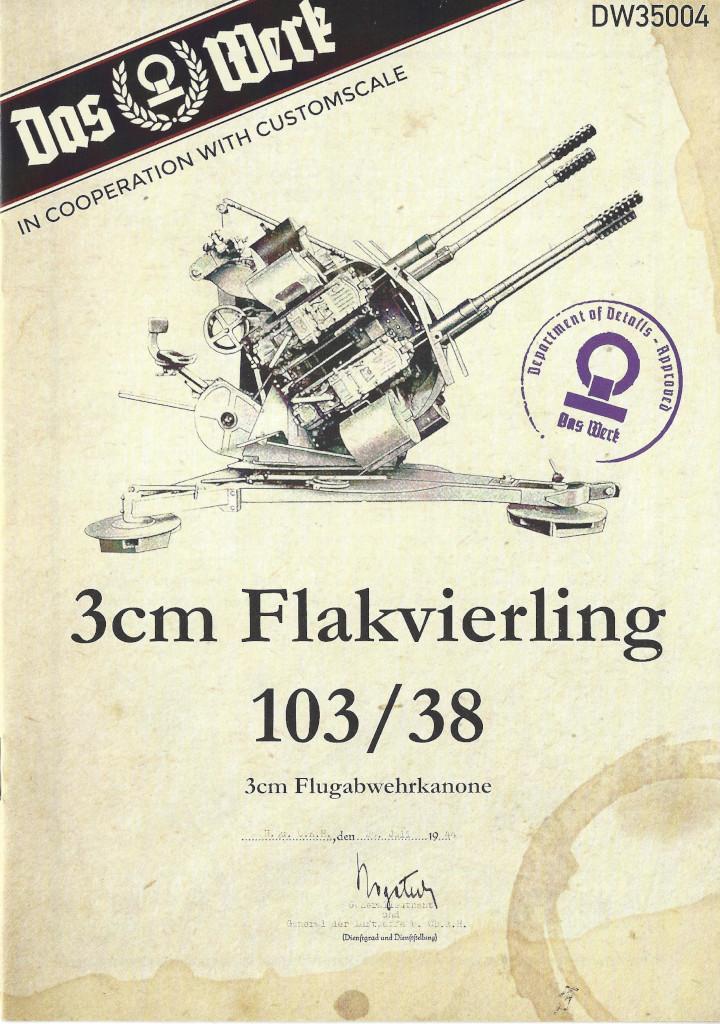 Anleitung01-3 3cm Flakvierling 103/38 1:35 Das Werk (#DW35004)