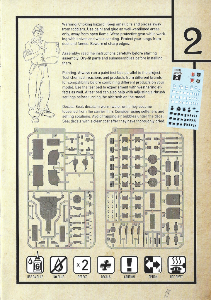Anleitung03-3 3cm Flakvierling 103/38 1:35 Das Werk (#DW35004)