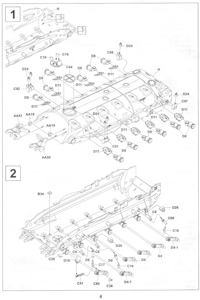 Anleitung04-2 M728 Combat Engineer Vehicle 1:35 AFV Club (#35254)