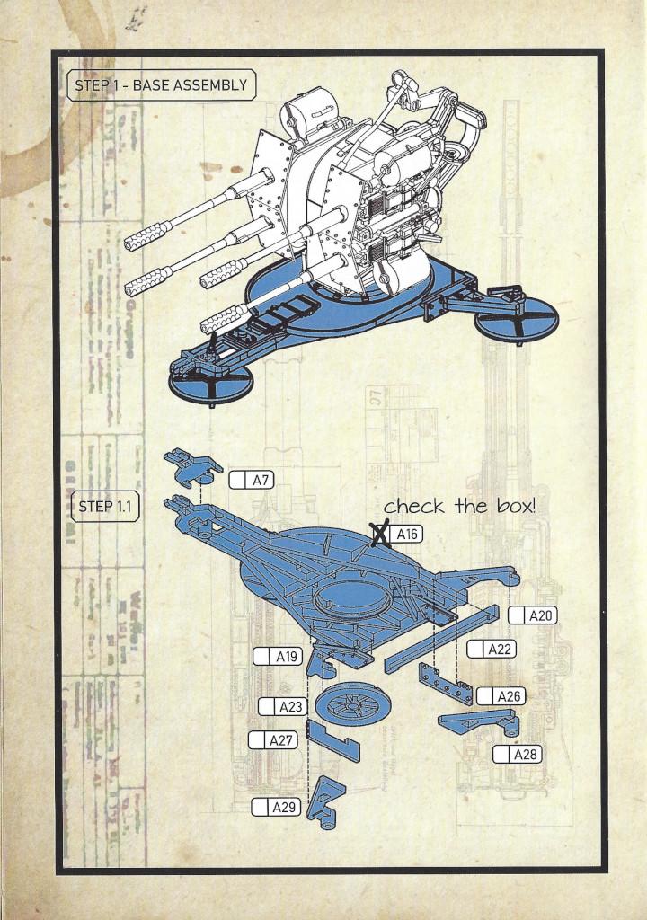 Anleitung04-3 3cm Flakvierling 103/38 1:35 Das Werk (#DW35004)