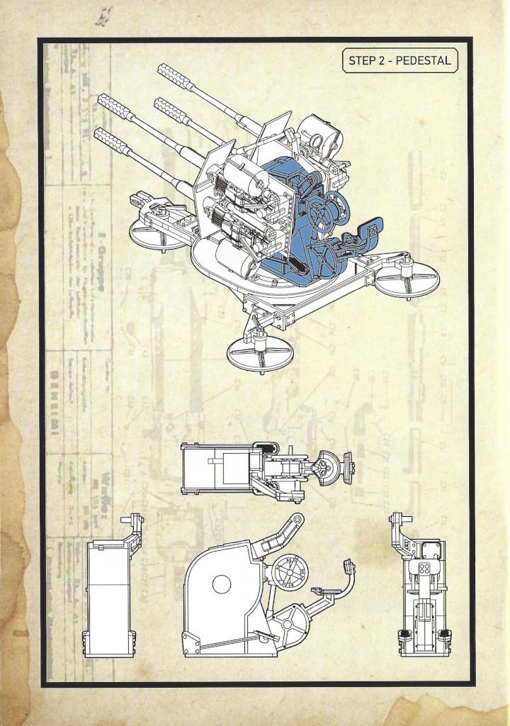 Anleitung06-3 3cm Flakvierling 103/38 1:35 Das Werk (#DW35004)