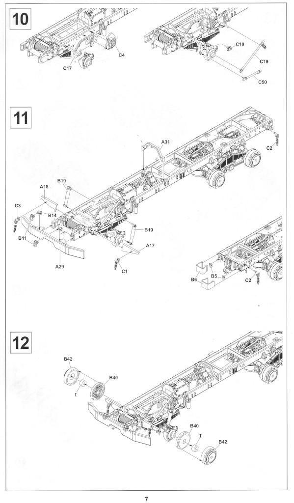 Anleitung07-1 M54A2 5-Ton 6x6 Cargo Truck 1:35 AFV Club (#AF35300)