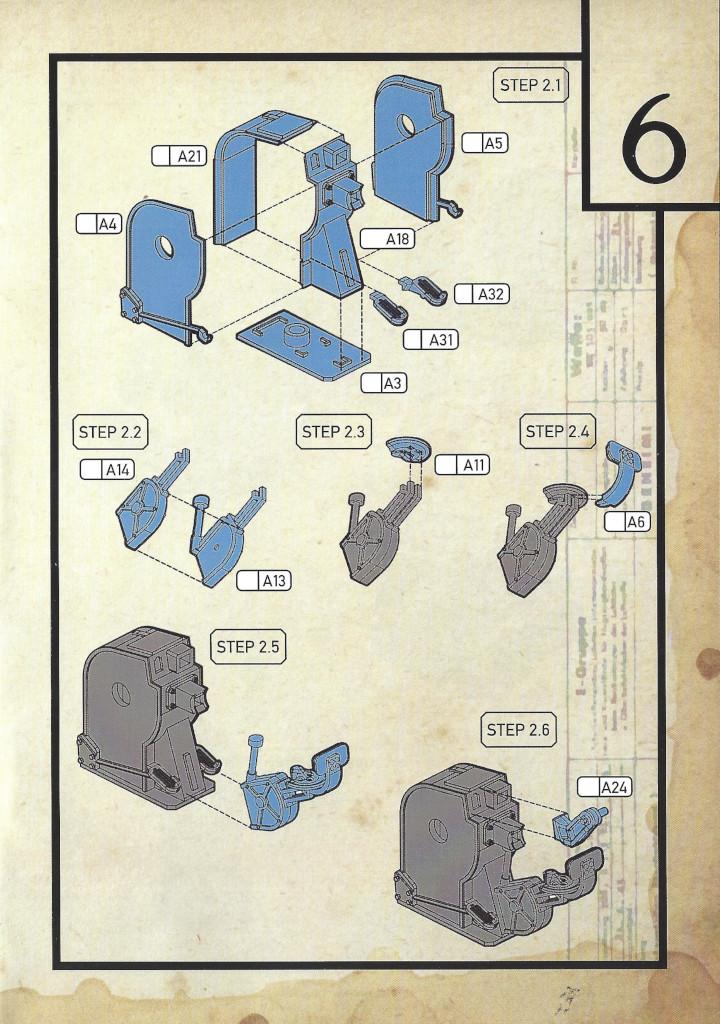 Anleitung07-3 3cm Flakvierling 103/38 1:35 Das Werk (#DW35004)