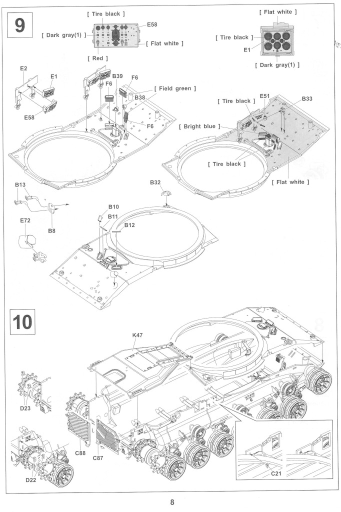 Anleitung08-2 M728 Combat Engineer Vehicle 1:35 AFV Club (#35254)