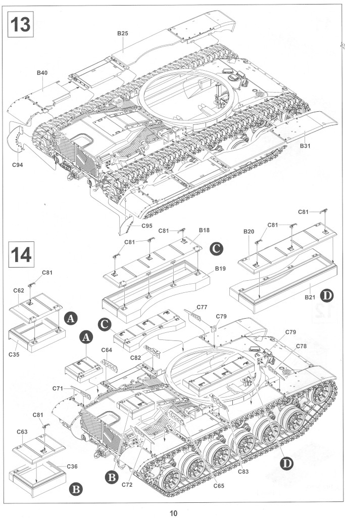 Anleitung10-2 M728 Combat Engineer Vehicle 1:35 AFV Club (#35254)