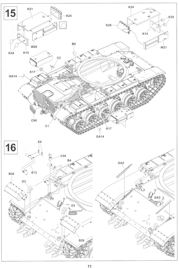 Anleitung11-2 M728 Combat Engineer Vehicle 1:35 AFV Club (#35254)