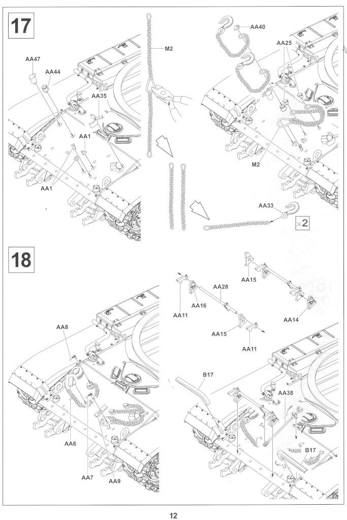 Anleitung12-2 M728 Combat Engineer Vehicle 1:35 AFV Club (#35254)