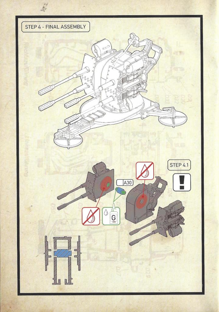 Anleitung12-3 3cm Flakvierling 103/38 1:35 Das Werk (#DW35004)