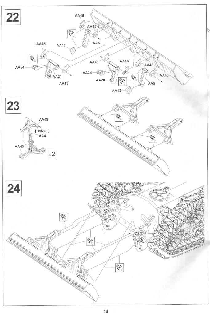 Anleitung14-2 M728 Combat Engineer Vehicle 1:35 AFV Club (#35254)