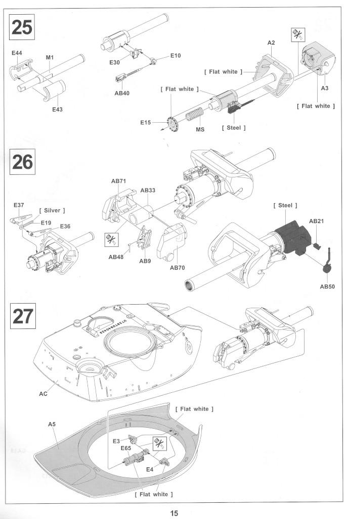 Anleitung15-2 M728 Combat Engineer Vehicle 1:35 AFV Club (#35254)