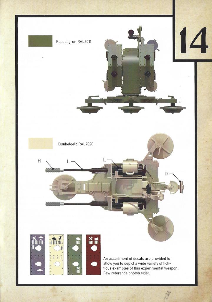Anleitung15-3 3cm Flakvierling 103/38 1:35 Das Werk (#DW35004)