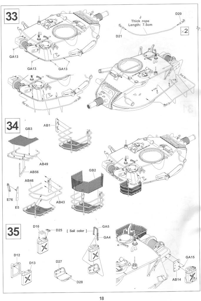 Anleitung18-1 M728 Combat Engineer Vehicle 1:35 AFV Club (#35254)