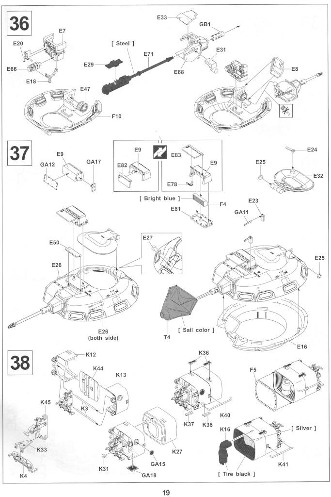Anleitung19-1 M728 Combat Engineer Vehicle 1:35 AFV Club (#35254)