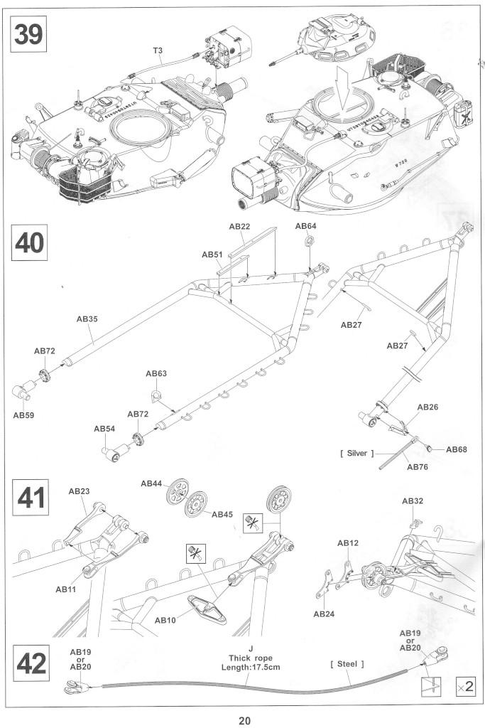Anleitung20-1 M728 Combat Engineer Vehicle 1:35 AFV Club (#35254)
