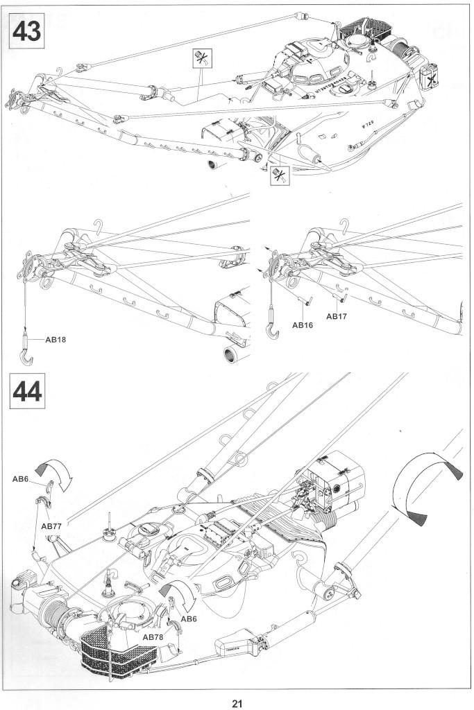 Anleitung21-1 M728 Combat Engineer Vehicle 1:35 AFV Club (#35254)