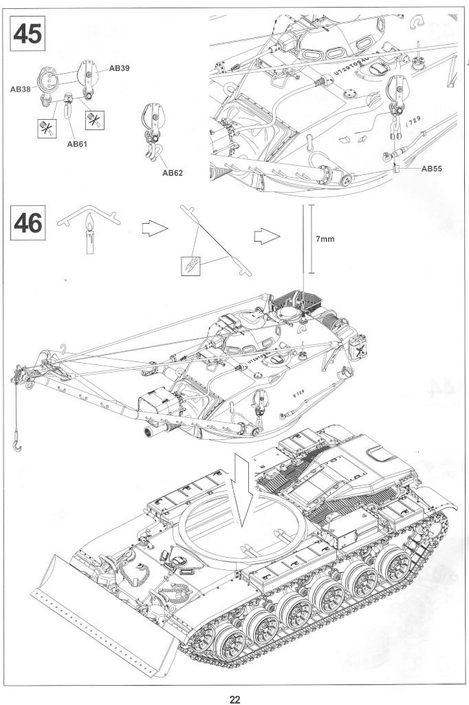 Anleitung22-1 M728 Combat Engineer Vehicle 1:35 AFV Club (#35254)
