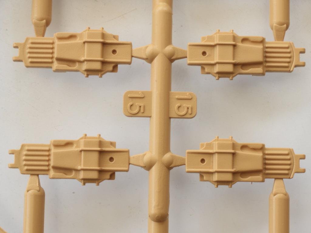 B-6-1 3cm Flakvierling 103/38 1:35 Das Werk (#DW35004)