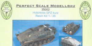 Hotchkiss SPZ kurz 1:35 Perfect Scale (#35002)