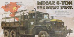 M54A2 5-Ton 6×6 Cargo Truck 1:35 AFV Club (#AF35300)