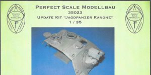 "Update Kit ""Jagdpanzer Kanone"" 1:35 Perfect Scale (#35023)"