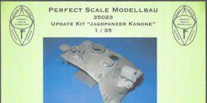 """Update Kit """"Jagdpanzer Kanone"""" 1:35 Perfect Scale (#35023)"""