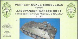Jagdpanzer Rakete SS11 Conversion Kit für Revell 1:35 Perfect Scale (#35055)
