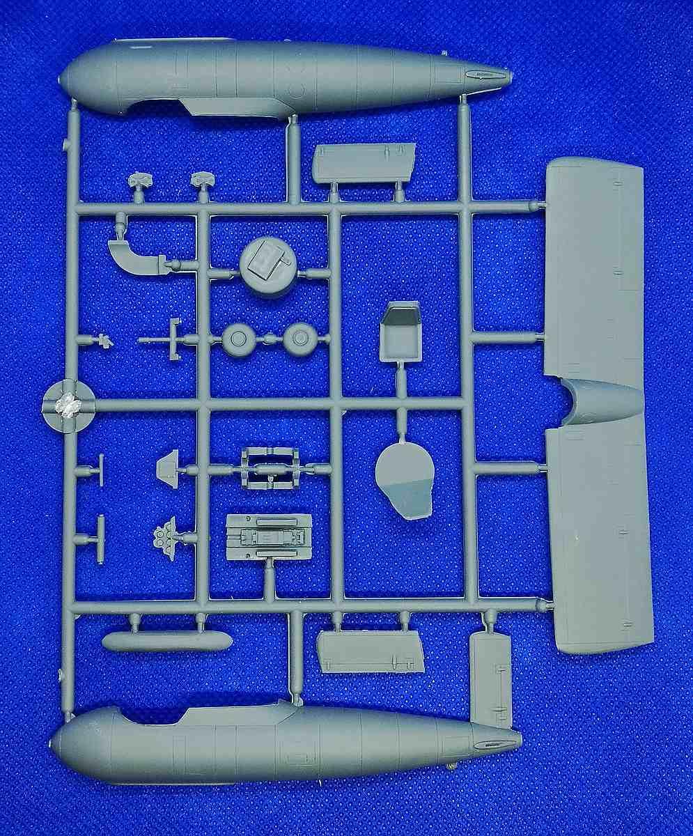 Brengun-48004-Messerschmitt-Me-P-1103-9 Messerschmitt Me P.1103 in 1:48 von Brengun # 48004