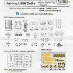 CMK-8055-Unimog-DoKa-Schlepper-10-150x150 CMK Unimog DoKa Flugzeug (und Hubschrauber-) schlepper in 1:48 #8055