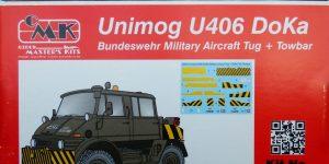 CMK Unimog DoKa Flugzeug (und Hubschrauber-) schlepper in 1:48 #8055